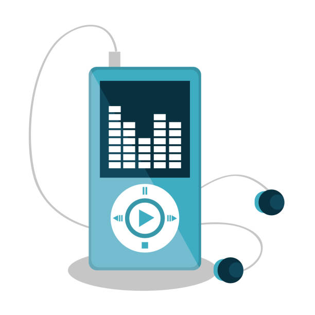 Best Mp3 Player Illustrations, Royalty-Free Vector Graphics & Clip
