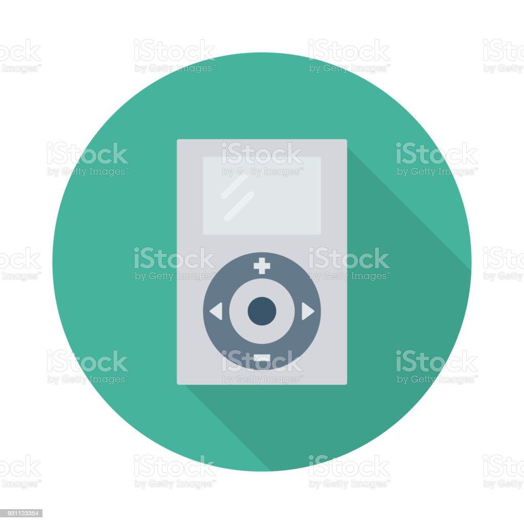 MP3 müzik çalar - Royalty-free ABD Vector Art
