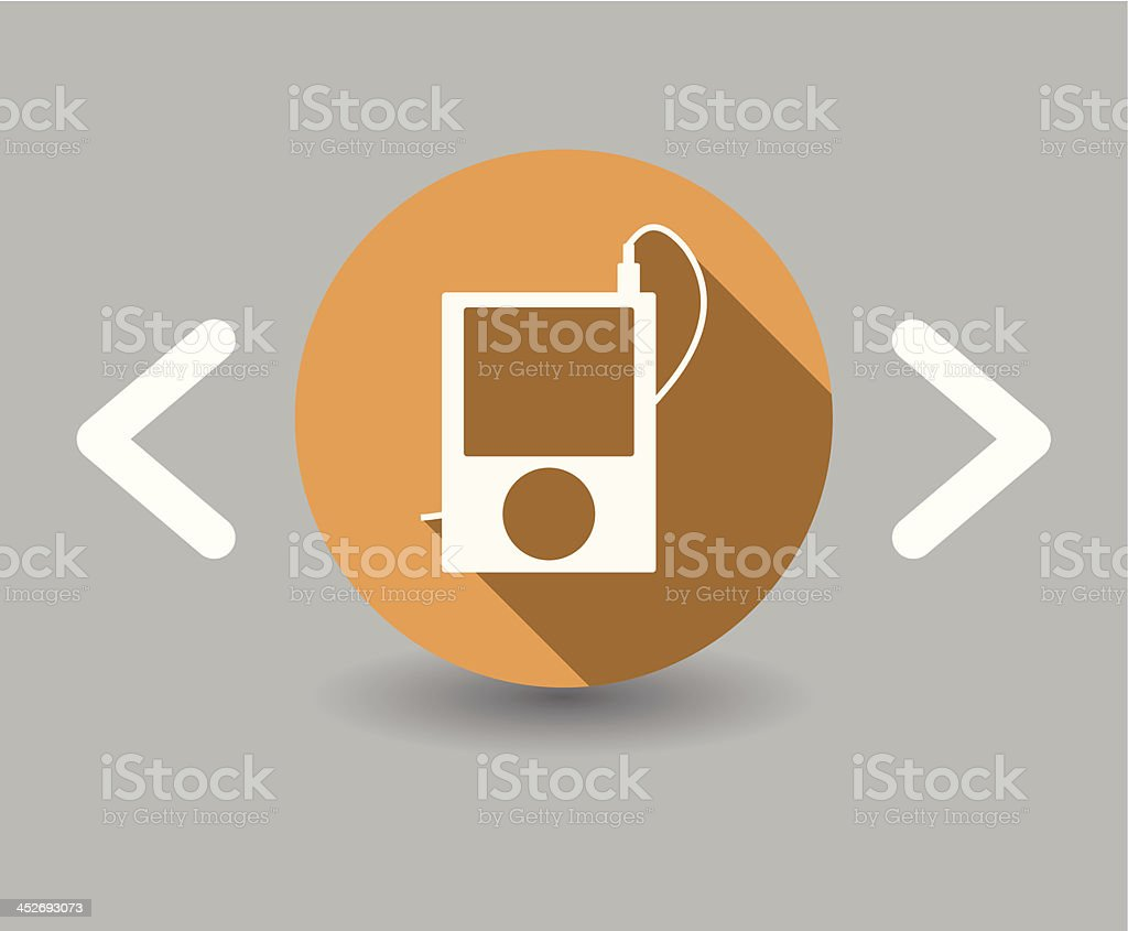mp4 icon royalty-free stock vector art