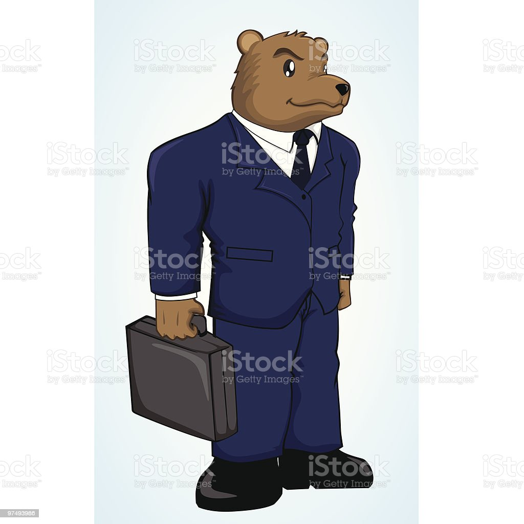 Mr Bear royalty-free mr bear stock vector art & more images of animal