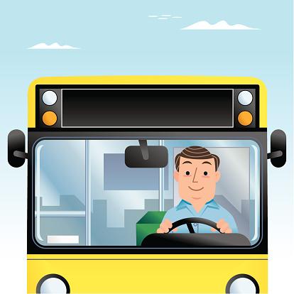 Mr Bus Driver Man