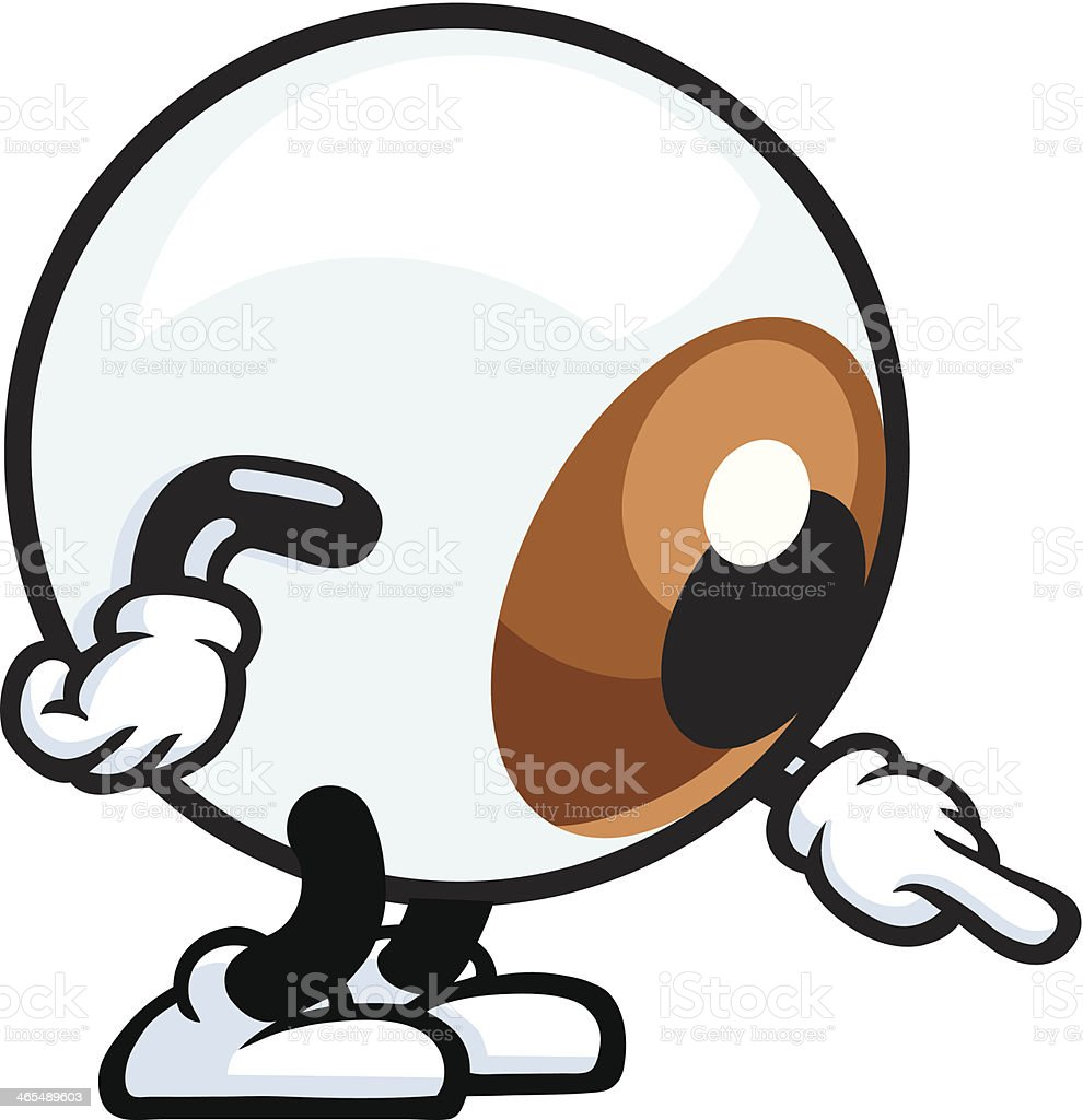 Mr Eyeball royalty-free mr eyeball stock vector art & more images of activity