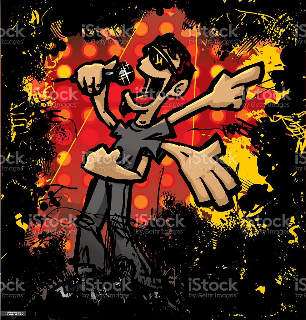 Mr. Rock Star royalty-free mr rock star stock vector art & more images of adult
