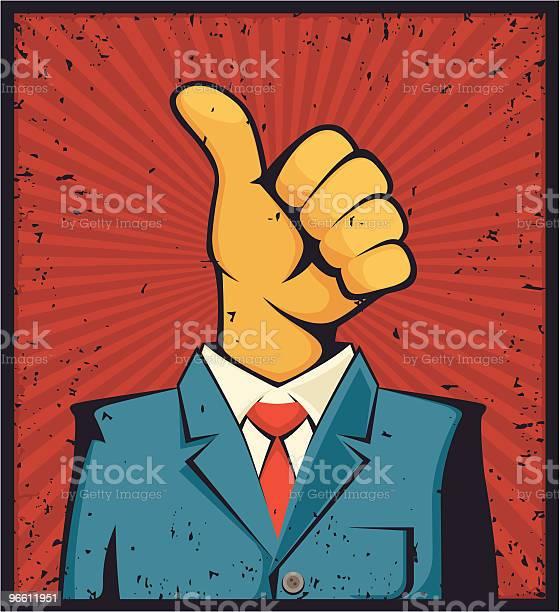 Mr Thumbs Up-vektorgrafik och fler bilder på Affärsman