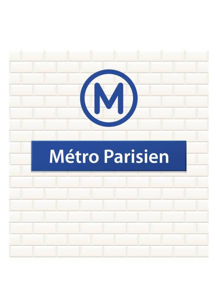 illustrations, cliparts, dessins animés et icônes de métro parisien - métro