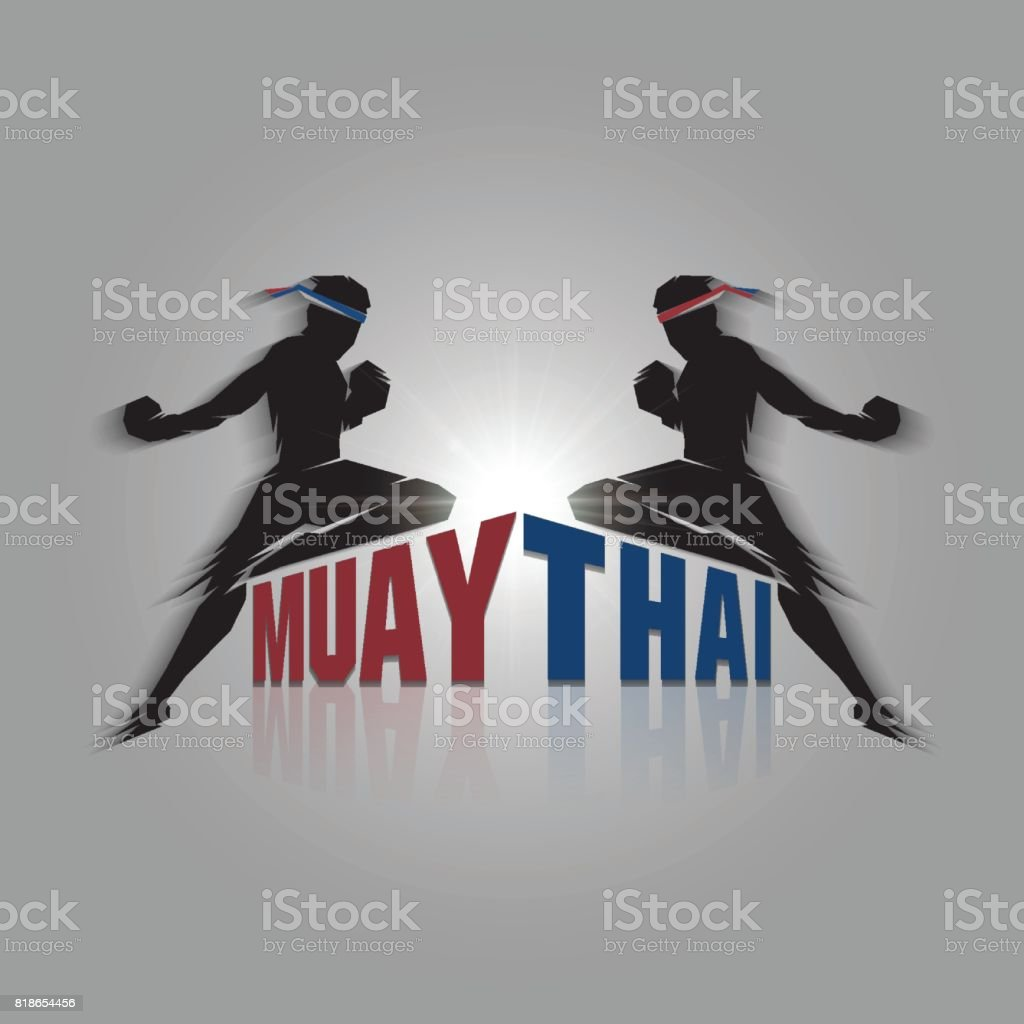 Muay thai sign