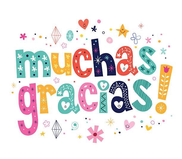 Image result for gracias clip art