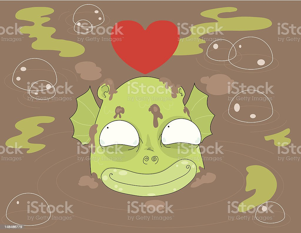 Muck Monster royalty-free muck monster stock vector art & more images of animal scale