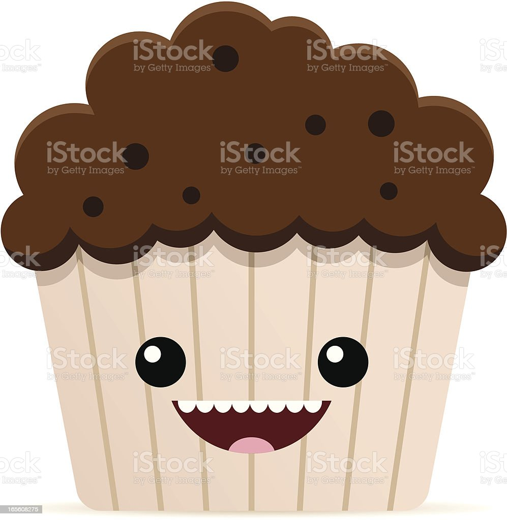 Muffin royalty-free stock vector art