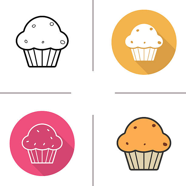 Best Muffin Illustrations Royalty Free Vector Graphics