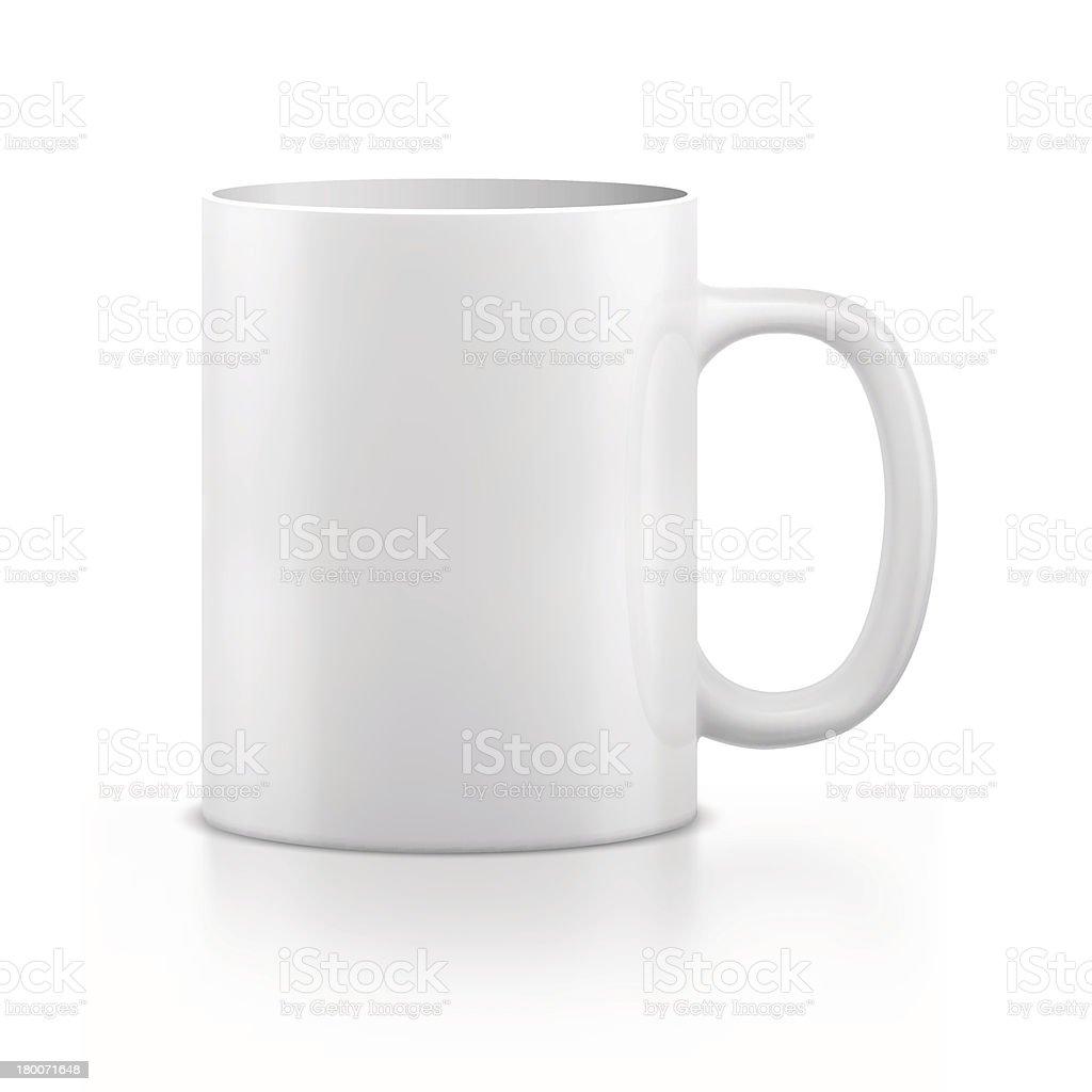 Mug vector art illustration