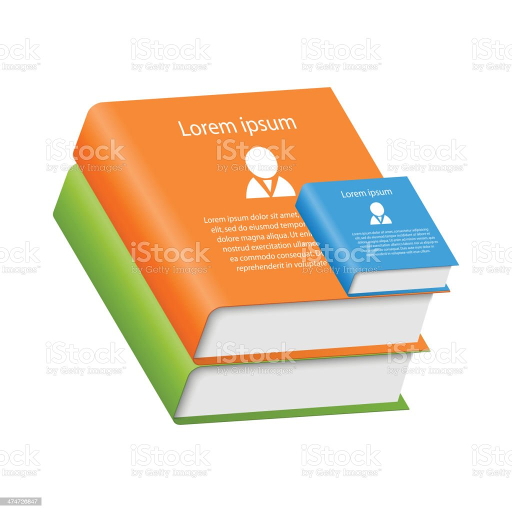 Multi colored books royalty-free multi colored books stock vector art & more images of advice