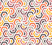 Seamless and colorful grid pattern background. Minimal and geometric vector design with vibrant colors.