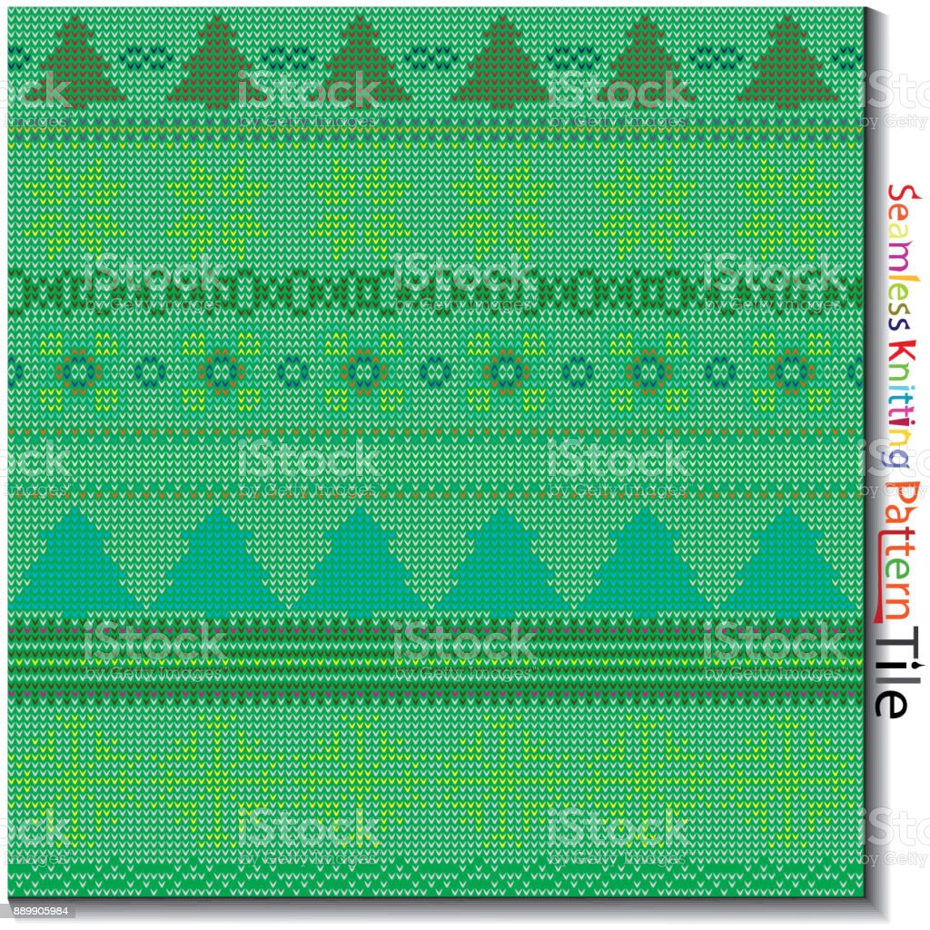 Multi Color Tejer De Patrones Sin Fisuras - Arte vectorial de stock ...