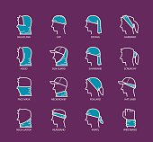 istock Multi Functional Headwear Scarf 625503114
