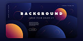 Abstract Colorful Modern Styled Template - Design Concept in Editable Vector Format