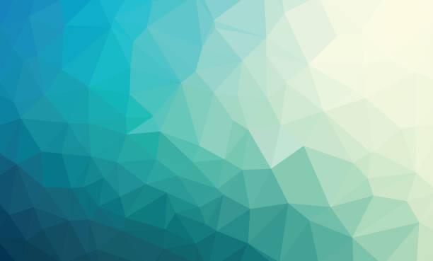 Multicolor colorful Triangle Geometrical Illustration Modern Des vector art illustration