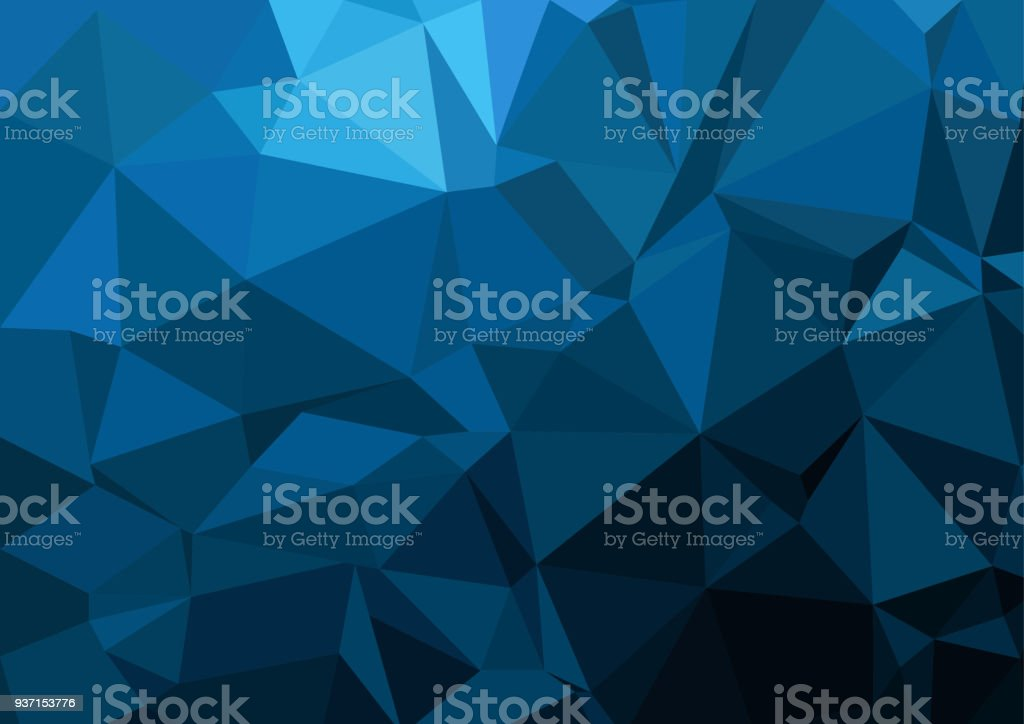 Multicolor geometric rumpled triangular low poly style gradient illustration graphic background. Vector polygonal design for your business. vector art illustration