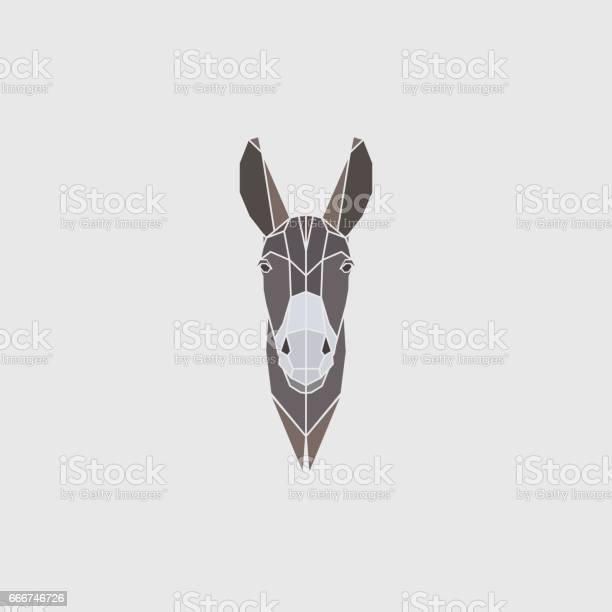 Multicolor head donkey on gray background polygonal style vector vector id666746726?b=1&k=6&m=666746726&s=612x612&h=gbrb2hx yvrdvg9hyzcpu 4wj qykb1n2vaomoliovg=