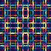 Multicolor huichol background