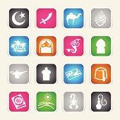 Multicolor Icons - Arabian