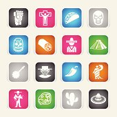 Multicolor Icons - Mexico