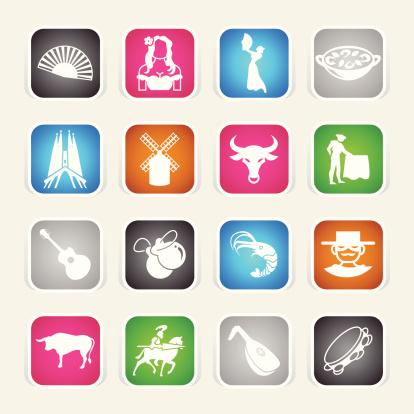 Multicolor Icons - Spain