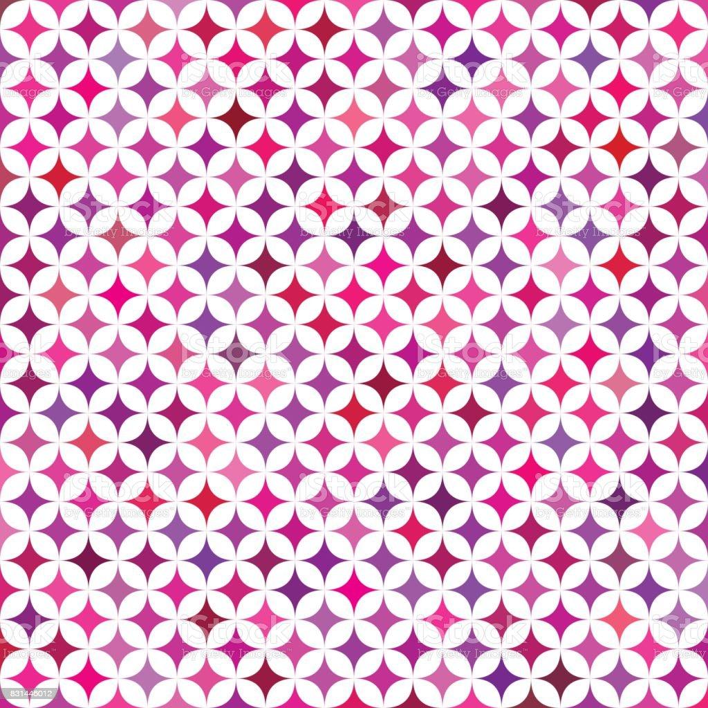 多色の星のパターン背景デザイン - イラストレーションのベクターアート