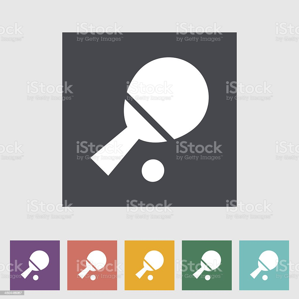 Multi-color table tennis racket and ball icons royalty-free multicolor table tennis racket and ball icons stock vector art & more images of activity