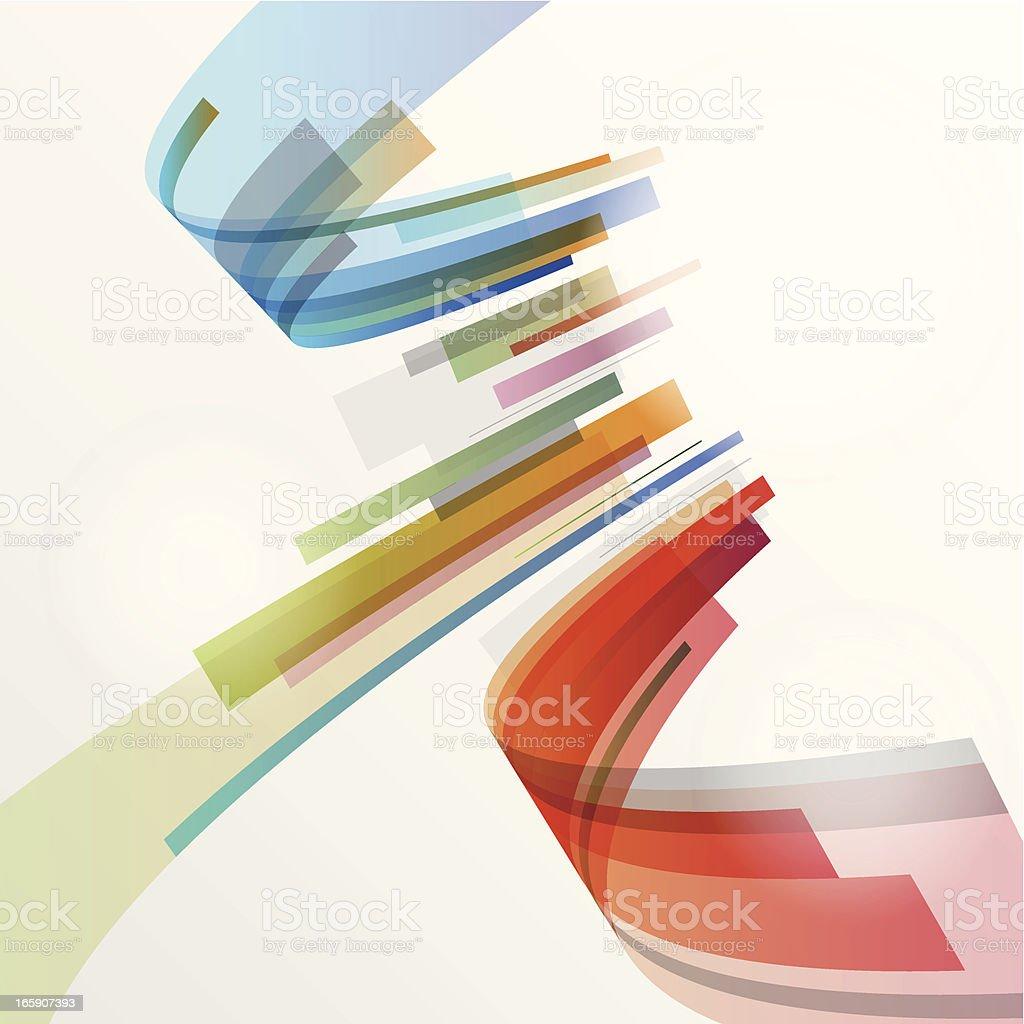 Abstrakte Farbe Hintergrund – Vektorgrafik