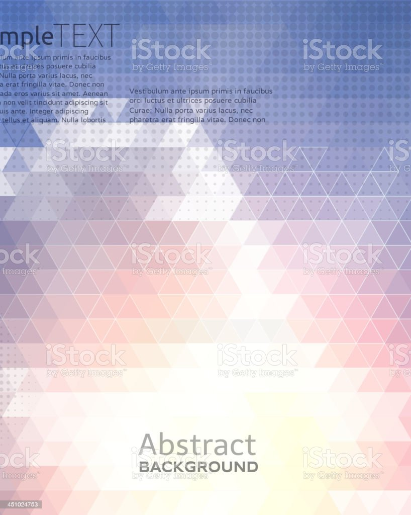 Multicolored mosaic background. royalty-free stock vector art