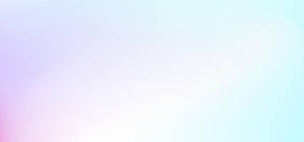 wielobarwne pastelowe abstrakcyjne tło. gradient światła. rozproszone białe, fioletowe, różowe, turkusowe odcienie. delikatne tony. wektor zamazane tło dla banerów internetowych, ulotek, ulotek. ilustracja eps 10 - pastelowy kolor stock illustrations