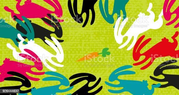 Multicolored rabbits running for the last carrot vector id926444632?b=1&k=6&m=926444632&s=612x612&h=folpisrxlias yifn9g3hfsqkecd miwf086fhgesjg=