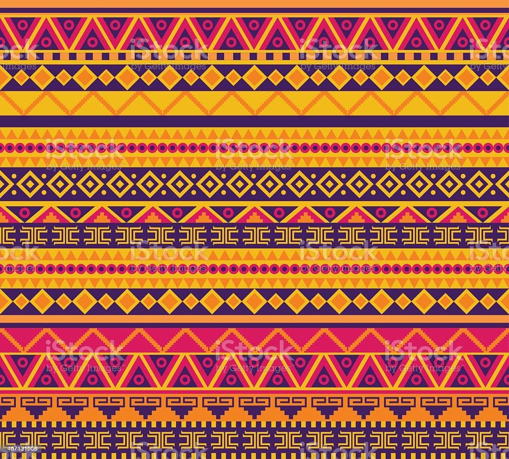 Estampa tribal - ilustração de arte em vetor