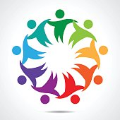 Multi-Ethnic Group of People Community, Unity, Friendship and Solidarity