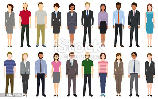 istock Multiethnic group of people 1214609050
