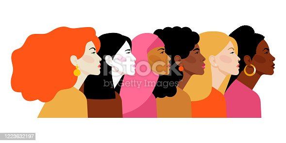 Different ethnicity women