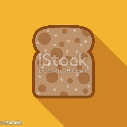 istock Multigrain Bread Icon 1272876997