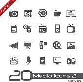 Multimedia Icons - Basics