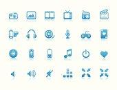 Multimedia Icons (Reflection)
