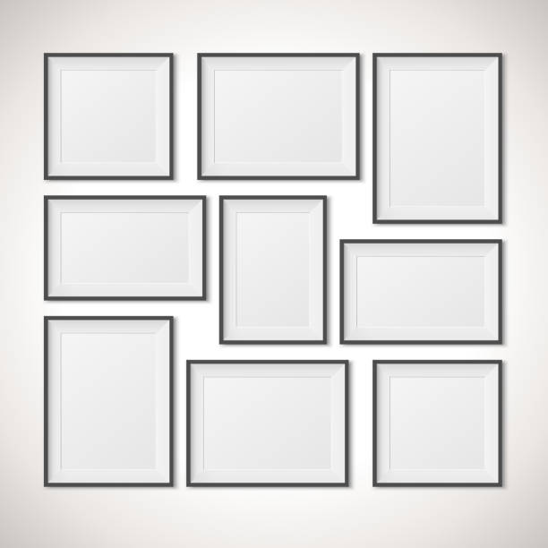 Royalty Free Picture On Wall Clip Art, Vector Images & Illustrations ...
