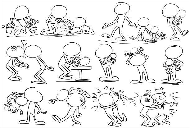 familien lieben - wickeltisch stock-grafiken, -clipart, -cartoons und -symbole