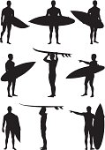 Multiple image of a man with surfboardhttp://www.twodozendesign.info/i/1.png