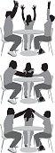 Multiple image of friends in restauranthttp://www.twodozendesign.info/i/1.png