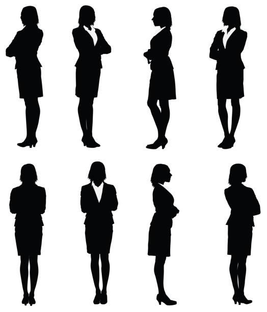 ilustrações de stock, clip art, desenhos animados e ícones de várias imagens de uma mulher de negócios - portrait of confident business