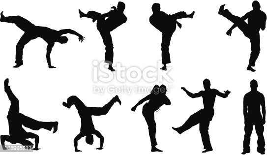 Multiple images of a man practicing capoeirahttp://www.twodozendesign.info/i/1.png