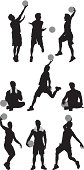 Multiple images of basketball playershttp://www.twodozendesign.info/i/1.png