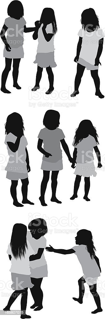 Multiple images of children playing royalty-free multiple images of children playing stock vector art & more images of barefoot