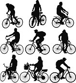 Multiple images of men and women with bicyclehttp://www.twodozendesign.info/i/1.png