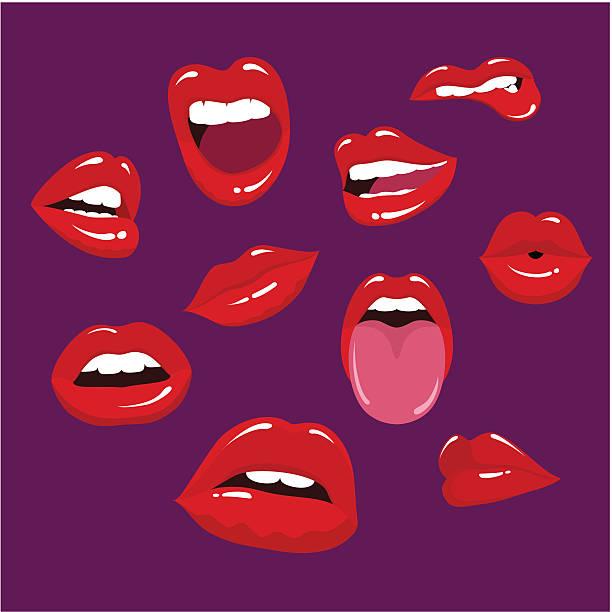 Les lèvres - Illustration vectorielle